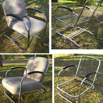 Chrome Lounge Chairs - Furniture
