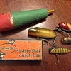 "Vintage Wooden ""Baits That Catch Fish"""