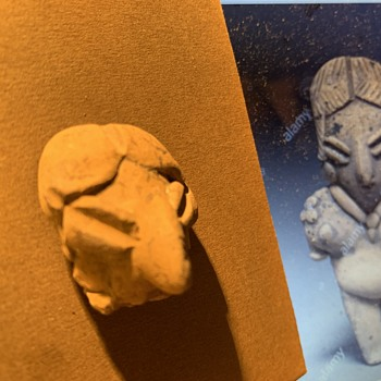Chupicuaro Head Artifact  ????   Looks close to this one i Found on Line, What do you think??? - Pottery
