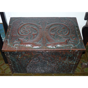 Arts & Crafts Copper Chest attributed to John Pearson - Arts and Crafts
