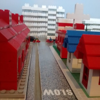more of Lego Townplan set circa 1959  - Toys