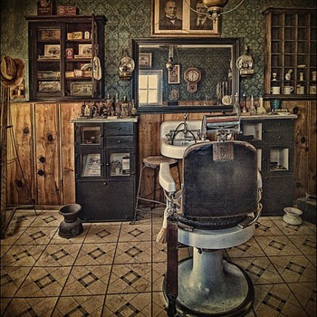 Nostalgia For Another Era: The Gentlemen's Barber Shops - Accessories
