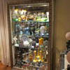 This is our second display case, mostly color art glass