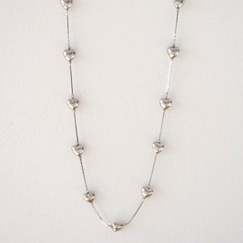 Trifari TM Heart Necklace