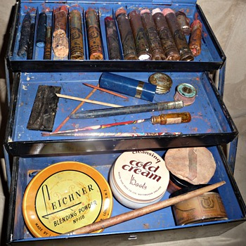 vintage leichner stage make-up