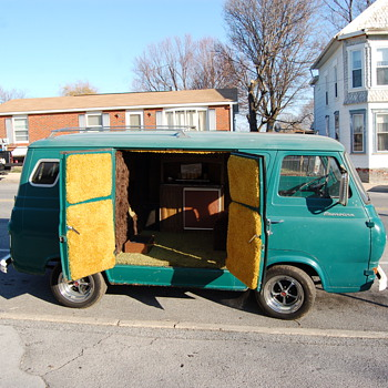 1963 Ford party van - Classic Cars