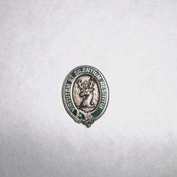 Possible typo on vintage screwback pin? Masonic?  - Medals Pins and Badges