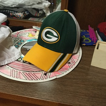 My Green Bay packers cap. - Football