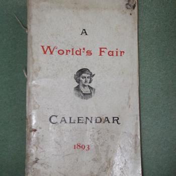 1893 World's Fair Book - Books