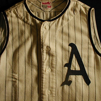 "My Vintage Kansas City Athletics Baseball ""Vest"" Jersey"