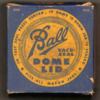 Ball Mason Jar Dome Lids - Advertising