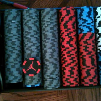 Air Jordan Poker Set