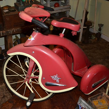 Airflow Collectibles Sky King Tricycle - Toys