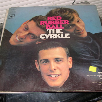 THE CYRKLE RED RUBBER BALL COLUMBIA RECORD CS 9344