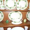 Fransescan ware set ivy leaf