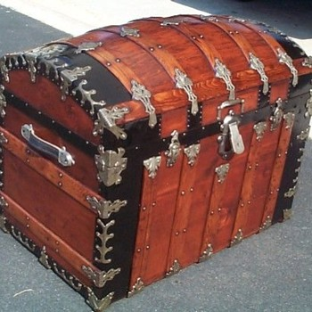 A Fantastic Restored Antique Trunk  - Furniture