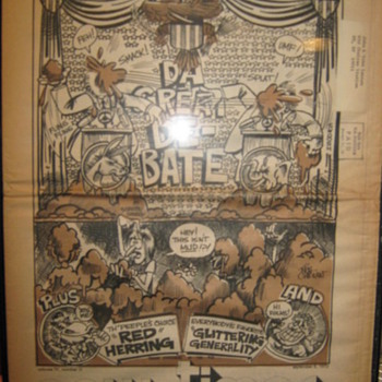 John Lennon owned newspaper-1972 - Music Memorabilia