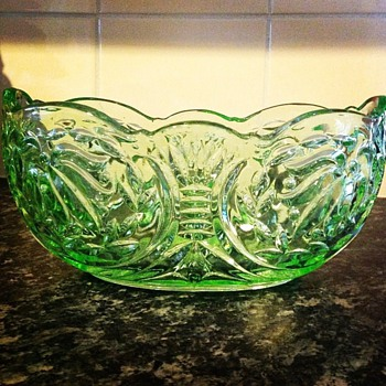 Another of my favorite pieces. The 'Prawn' - Glassware