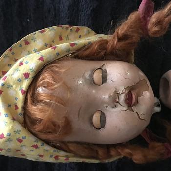 Old doll - Dolls