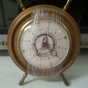 Seven Seas E Ingraham Nautical watches Clock - Clocks