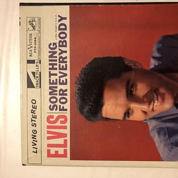 Elvis Something For Everybody reel to reel - Music Memorabilia