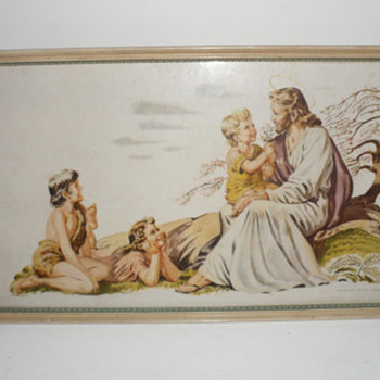 Jesus with Children 1942