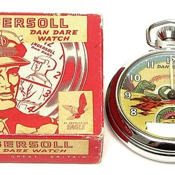 Dan Dare Pocket watch - Pocket Watches