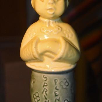 SPRINKLE PLENTY - Vintage Soy Sauce Bottle? - Pottery