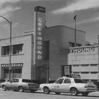 Greyhound Bus Station, Binghamton, New York 1980 - Art Deco