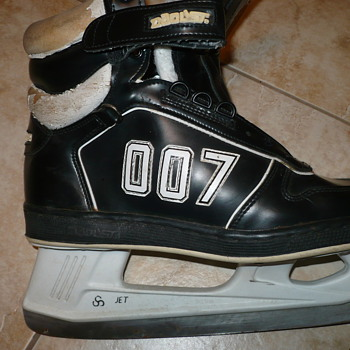 Unusual Pair of Skates - Hockey