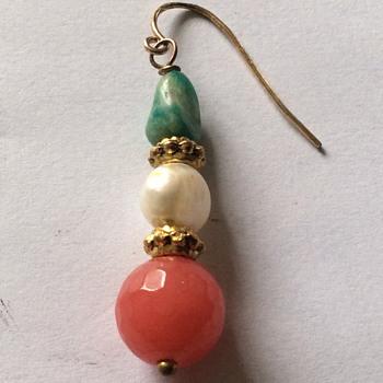 Old single earring ,