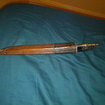 Old antique knife