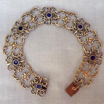 WMF Silver Gilt Bracelet