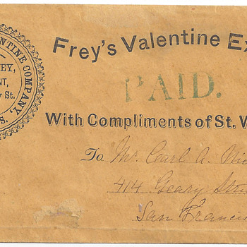 Frey's Valentine Express Post - Stamps