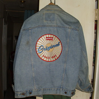 Levi Strauss Type 3 Jacket - Advertising