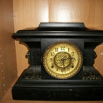 E Ingraham clock - Clocks