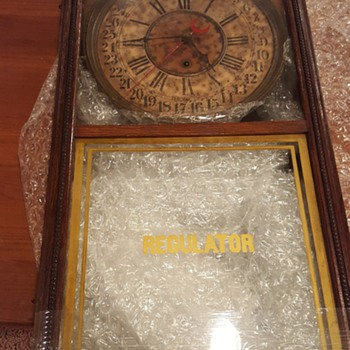 "Sessions Regulator ""H"" Clock - Clocks"