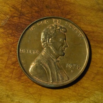 Big penny. Tiny penny! - US Coins
