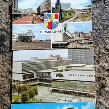 Old birmingham postcards 1965 to 1972 - Postcards