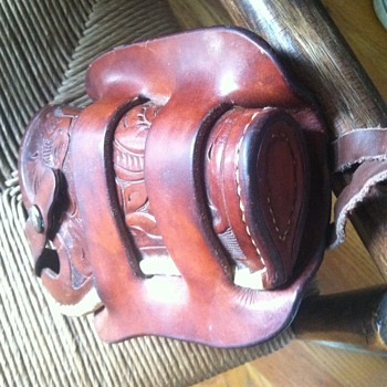 Hermann H. Heiser officers model?  holster- laced-floral - Military and Wartime