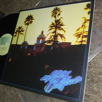 The Eagles 'Hotel California'...On 33 1/3 RPM Vinyl - Records