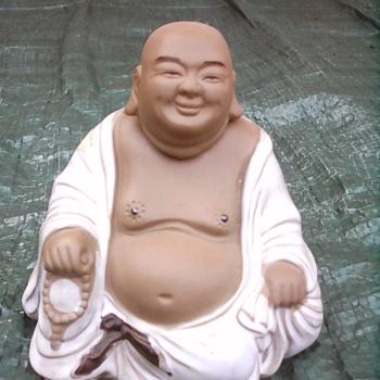 My nodding head Buddha - Asian