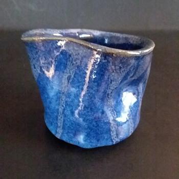 Art pottery creamer - Pottery
