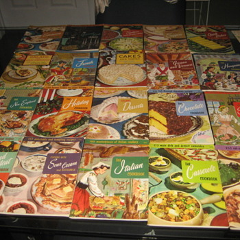 My Staff Home Economist's Culinary Arts Institute Cookbooks and a few others. - Books