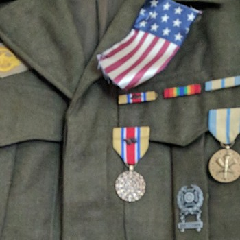 WWII Pacific Theater Jacket with medals - Military and Wartime