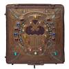 1908-10 Alfred Daguet Mixed Metal & Cabochon Desk Box (Paris, Fr.)