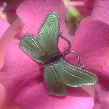 John Atkins & Son Butterfly - Fine Jewelry