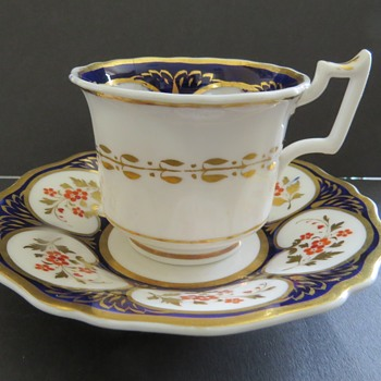 Antique Cup and Saucer - China and Dinnerware