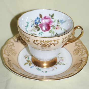 Cup and Saucer: EB Fooley Bone China - China and Dinnerware