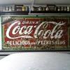 old 4' x 8' porcelain coke sign